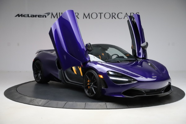 Used 2020 McLaren 720S Spider Performance for sale $324,990 at Bentley Greenwich in Greenwich CT 06830 21
