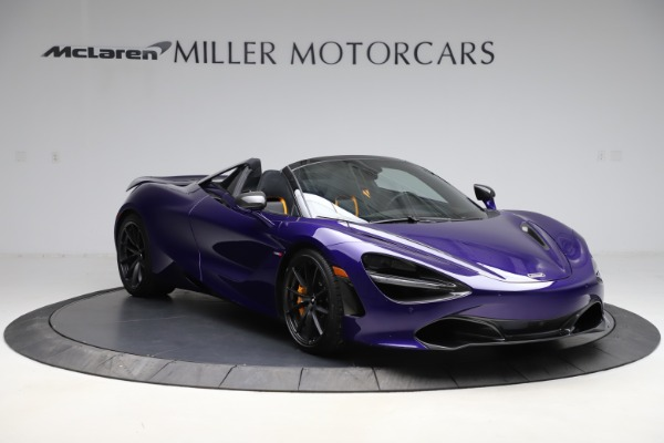 Used 2020 McLaren 720S Spider for sale $324,990 at Bentley Greenwich in Greenwich CT 06830 4