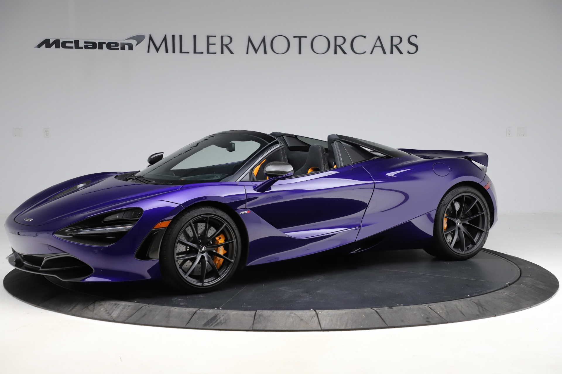 Used 2020 McLaren 720S Spider for sale $324,990 at Bentley Greenwich in Greenwich CT 06830 1