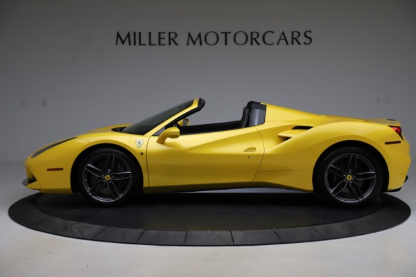 Used 2018 Ferrari 488 Spider for sale $289,900 at Bentley Greenwich in Greenwich CT 06830 3