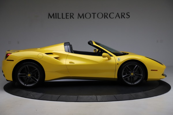 Used 2018 Ferrari 488 Spider for sale $289,900 at Bentley Greenwich in Greenwich CT 06830 9