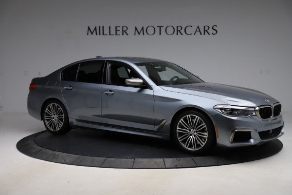 Used 2018 BMW 5 Series M550i xDrive for sale $49,900 at Bentley Greenwich in Greenwich CT 06830 10