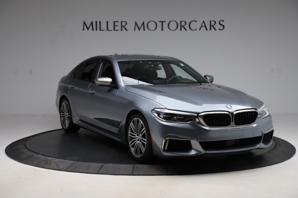 Used 2018 BMW 5 Series M550i xDrive for sale $49,900 at Bentley Greenwich in Greenwich CT 06830 11