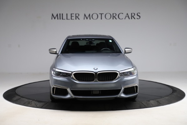 Used 2018 BMW 5 Series M550i xDrive for sale $49,900 at Bentley Greenwich in Greenwich CT 06830 12