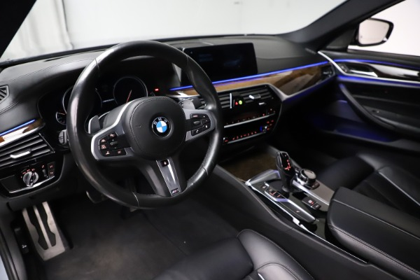 Used 2018 BMW 5 Series M550i xDrive for sale $49,900 at Bentley Greenwich in Greenwich CT 06830 13