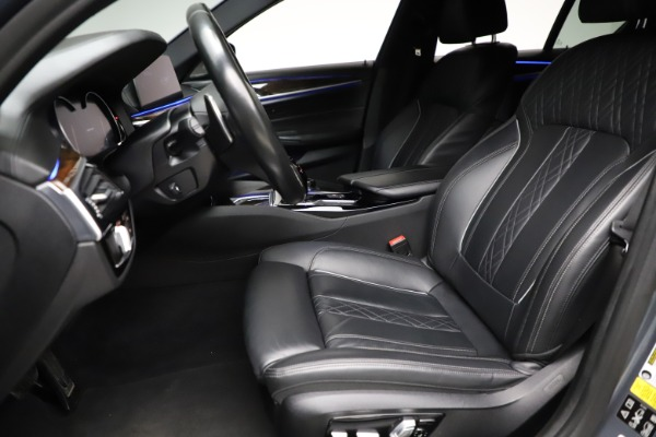 Used 2018 BMW 5 Series M550i xDrive for sale $49,900 at Bentley Greenwich in Greenwich CT 06830 14