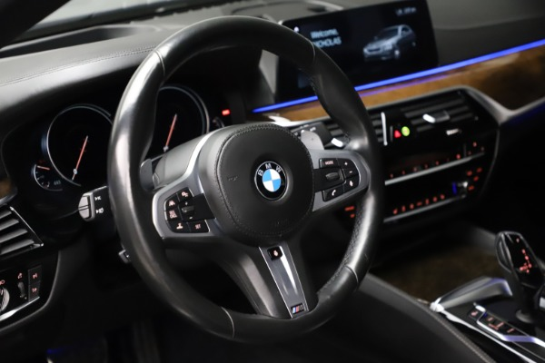 Used 2018 BMW 5 Series M550i xDrive for sale $49,900 at Bentley Greenwich in Greenwich CT 06830 16
