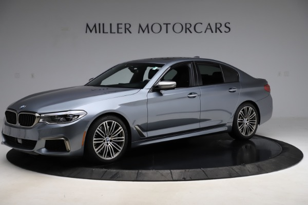 Used 2018 BMW 5 Series M550i xDrive for sale $49,900 at Bentley Greenwich in Greenwich CT 06830 2