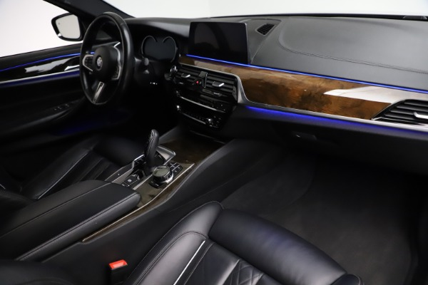 Used 2018 BMW 5 Series M550i xDrive for sale $49,900 at Bentley Greenwich in Greenwich CT 06830 20