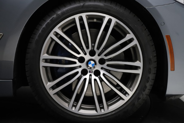 Used 2018 BMW 5 Series M550i xDrive for sale $49,900 at Bentley Greenwich in Greenwich CT 06830 26