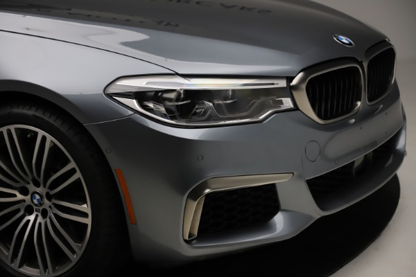 Used 2018 BMW 5 Series M550i xDrive for sale $49,900 at Bentley Greenwich in Greenwich CT 06830 28