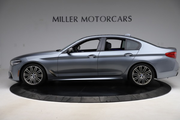 Used 2018 BMW 5 Series M550i xDrive for sale $49,900 at Bentley Greenwich in Greenwich CT 06830 3