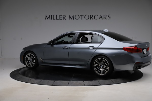 Used 2018 BMW 5 Series M550i xDrive for sale $49,900 at Bentley Greenwich in Greenwich CT 06830 4