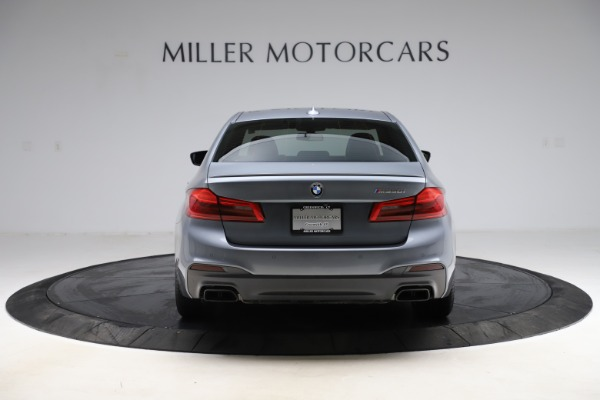 Used 2018 BMW 5 Series M550i xDrive for sale $49,900 at Bentley Greenwich in Greenwich CT 06830 6