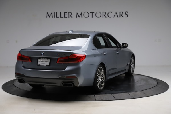 Used 2018 BMW 5 Series M550i xDrive for sale $49,900 at Bentley Greenwich in Greenwich CT 06830 7