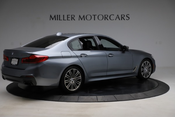 Used 2018 BMW 5 Series M550i xDrive for sale $49,900 at Bentley Greenwich in Greenwich CT 06830 8