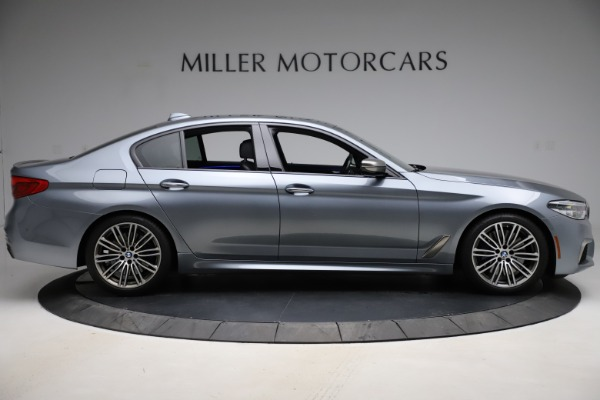 Used 2018 BMW 5 Series M550i xDrive for sale $49,900 at Bentley Greenwich in Greenwich CT 06830 9