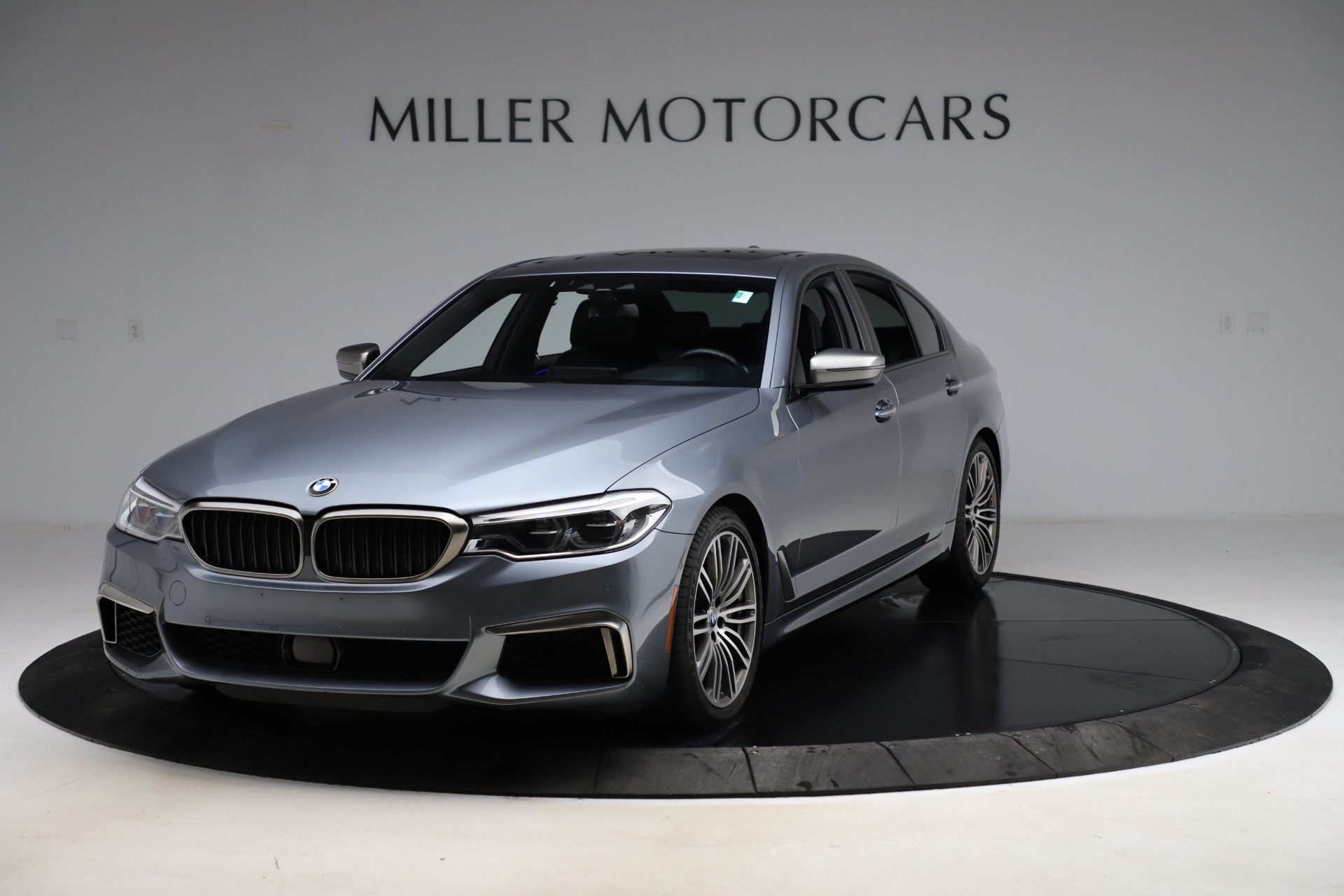Used 2018 BMW 5 Series M550i xDrive for sale $49,900 at Bentley Greenwich in Greenwich CT 06830 1
