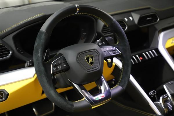 Used 2019 Lamborghini Urus for sale $249,900 at Bentley Greenwich in Greenwich CT 06830 16