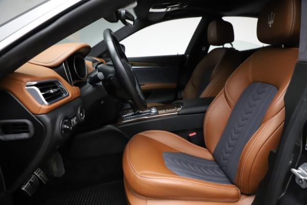 Used 2018 Maserati Ghibli SQ4 GranLusso for sale $51,900 at Bentley Greenwich in Greenwich CT 06830 14