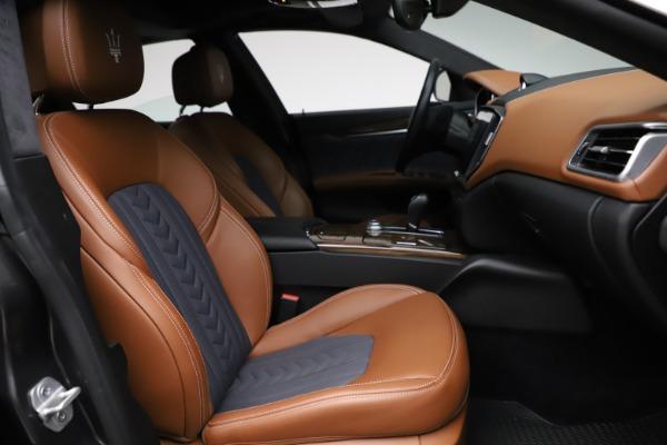 Used 2018 Maserati Ghibli SQ4 GranLusso for sale $51,900 at Bentley Greenwich in Greenwich CT 06830 22