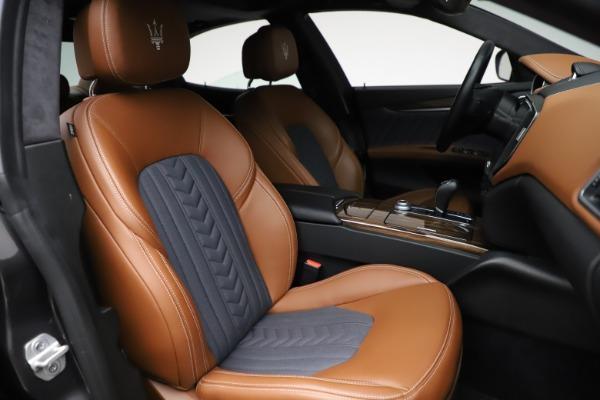 Used 2018 Maserati Ghibli SQ4 GranLusso for sale $51,900 at Bentley Greenwich in Greenwich CT 06830 23