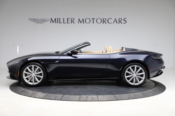 New 2021 Aston Martin DB11 Volante Convertible for sale $274,916 at Bentley Greenwich in Greenwich CT 06830 2