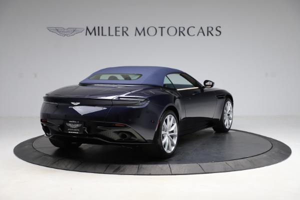 New 2021 Aston Martin DB11 Volante Convertible for sale $274,916 at Bentley Greenwich in Greenwich CT 06830 25