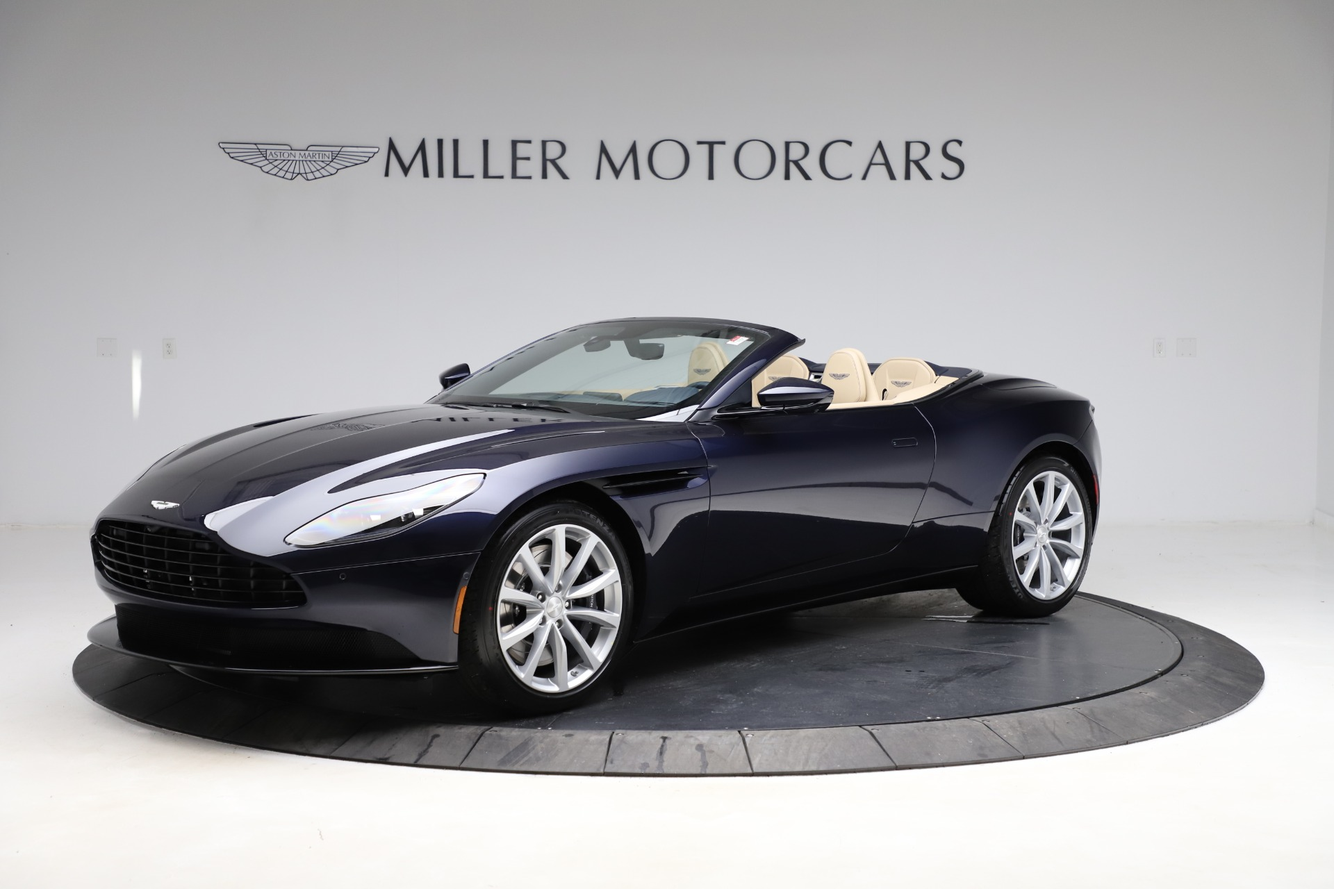 New 2021 Aston Martin DB11 Volante Convertible for sale $274,916 at Bentley Greenwich in Greenwich CT 06830 1