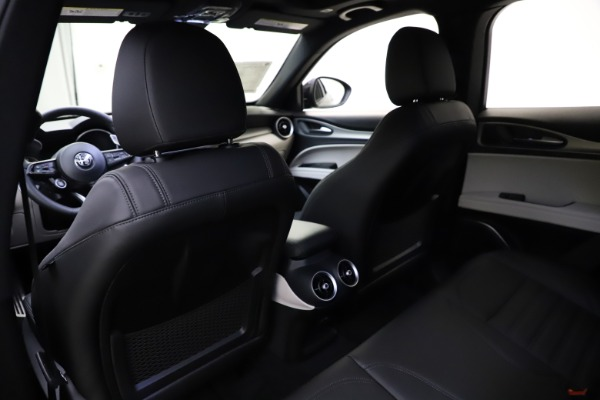New 2021 Alfa Romeo Stelvio Ti Sport Q4 for sale Sold at Bentley Greenwich in Greenwich CT 06830 20