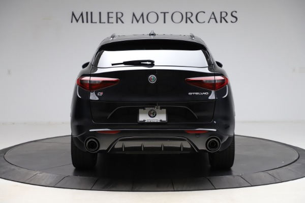 New 2021 Alfa Romeo Stelvio Ti Sport Q4 for sale Sold at Bentley Greenwich in Greenwich CT 06830 6