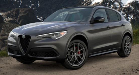 New 2021 Alfa Romeo Stelvio Ti Sport Q4 for sale $56,750 at Bentley Greenwich in Greenwich CT 06830 1