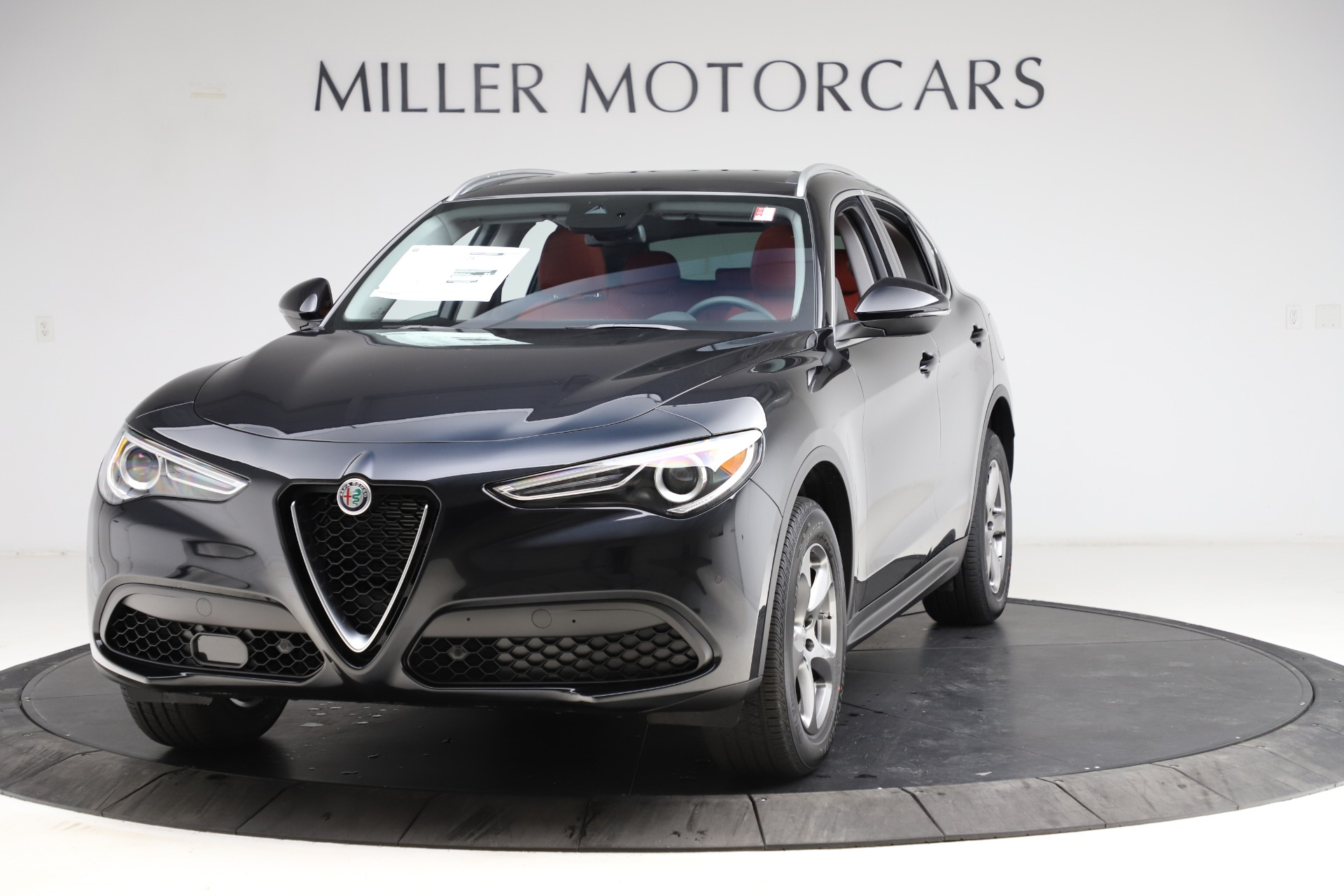 New 2021 Alfa Romeo Stelvio Q4 for sale $48,645 at Bentley Greenwich in Greenwich CT 06830 1