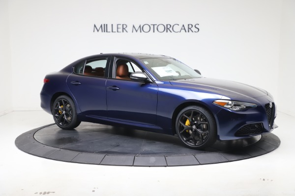 New 2021 Alfa Romeo Giulia Ti Q4 for sale $51,100 at Bentley Greenwich in Greenwich CT 06830 10