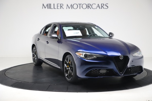 New 2021 Alfa Romeo Giulia Ti Q4 for sale $51,100 at Bentley Greenwich in Greenwich CT 06830 11