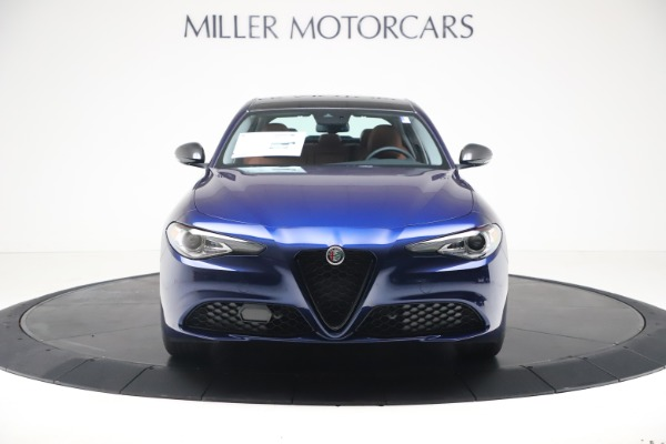 New 2021 Alfa Romeo Giulia Ti Q4 for sale $51,100 at Bentley Greenwich in Greenwich CT 06830 12