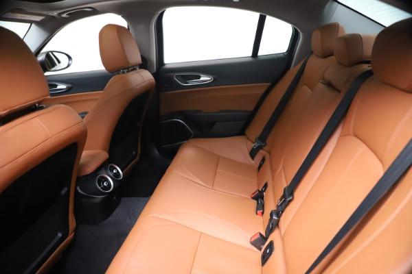 New 2021 Alfa Romeo Giulia Ti Q4 for sale $51,100 at Bentley Greenwich in Greenwich CT 06830 19