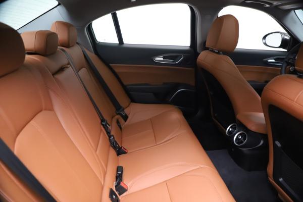 New 2021 Alfa Romeo Giulia Ti Q4 for sale $51,100 at Bentley Greenwich in Greenwich CT 06830 27