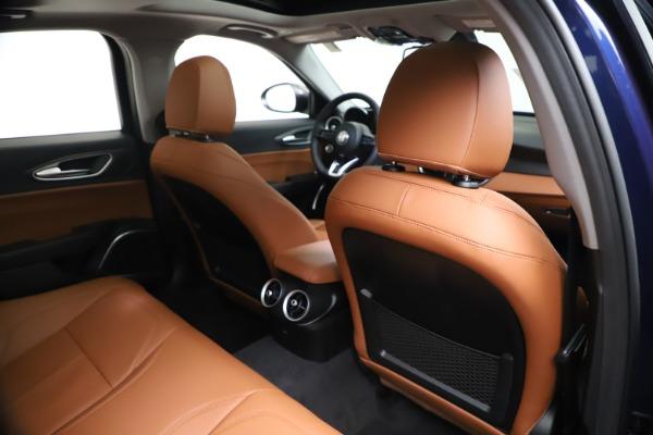New 2021 Alfa Romeo Giulia Ti Q4 for sale $51,100 at Bentley Greenwich in Greenwich CT 06830 28