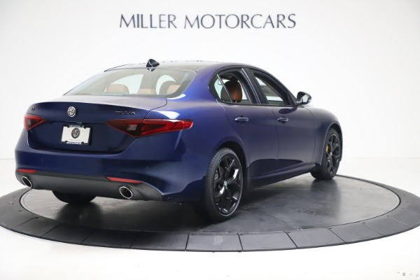 New 2021 Alfa Romeo Giulia Ti Q4 for sale $51,100 at Bentley Greenwich in Greenwich CT 06830 7