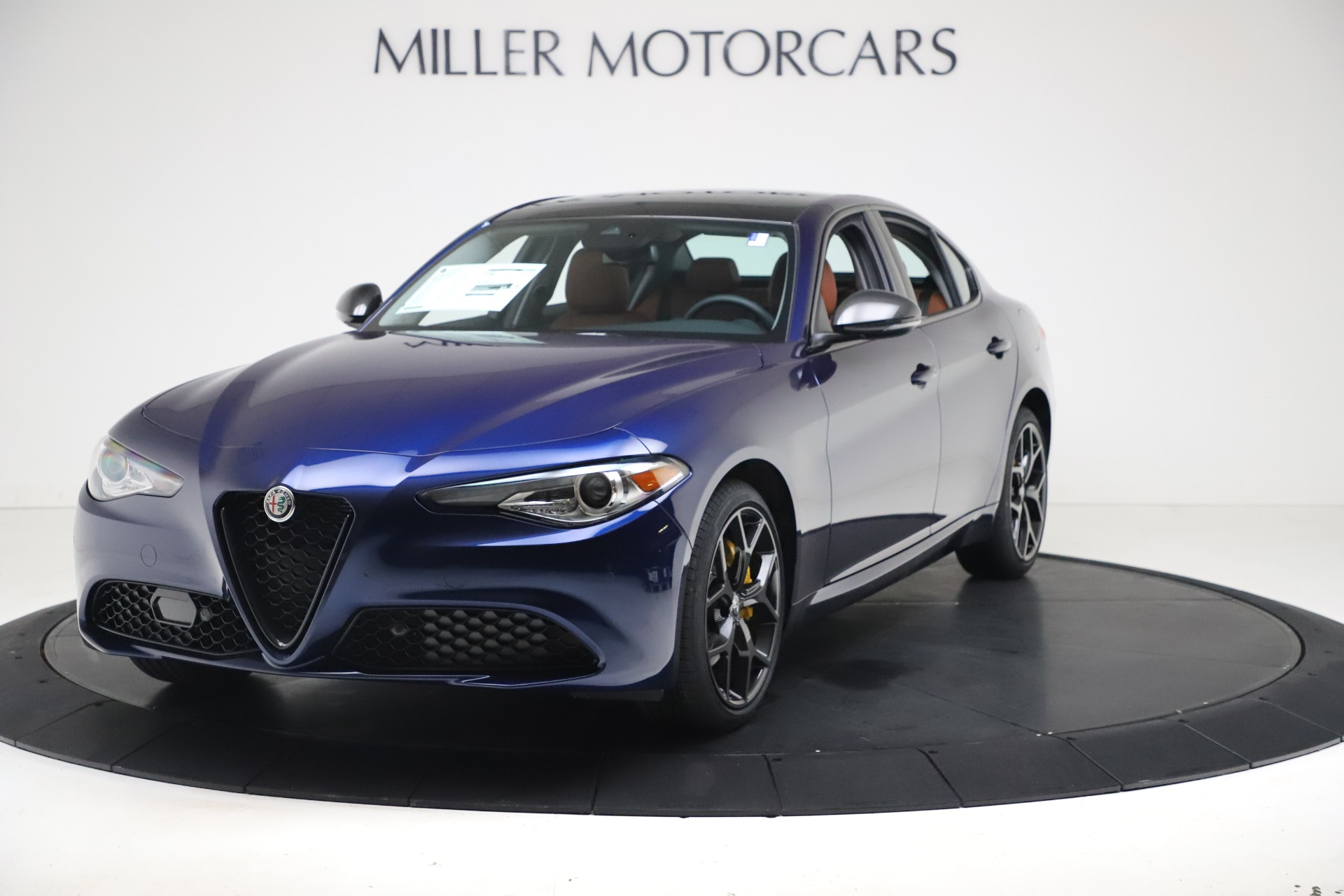 New 2021 Alfa Romeo Giulia Ti Q4 for sale $51,100 at Bentley Greenwich in Greenwich CT 06830 1