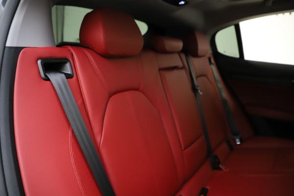 New 2021 Alfa Romeo Stelvio Q4 for sale $48,050 at Bentley Greenwich in Greenwich CT 06830 26