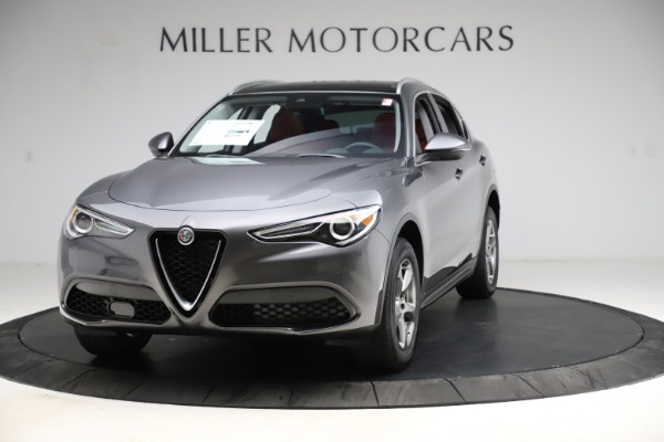 New 2021 Alfa Romeo Stelvio Q4 for sale $48,050 at Bentley Greenwich in Greenwich CT 06830 1