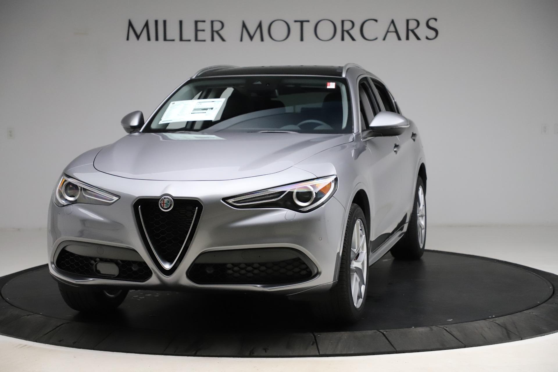 New 2021 Alfa Romeo Stelvio Ti Q4 for sale $55,900 at Bentley Greenwich in Greenwich CT 06830 1