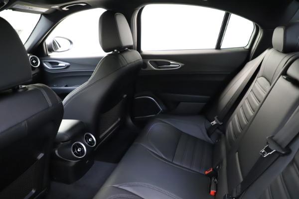 New 2021 Alfa Romeo Giulia Ti Sport for sale $52,940 at Bentley Greenwich in Greenwich CT 06830 19