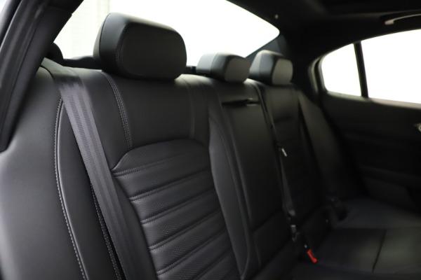 New 2021 Alfa Romeo Giulia Ti Sport for sale $52,940 at Bentley Greenwich in Greenwich CT 06830 26