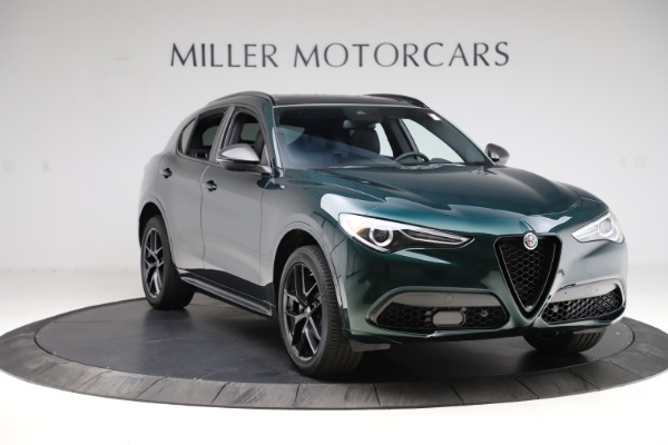 New 2021 Alfa Romeo Stelvio Ti Sport Q4 for sale $56,450 at Bentley Greenwich in Greenwich CT 06830 11