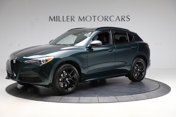 New 2021 Alfa Romeo Stelvio Ti Sport Q4 for sale $56,450 at Bentley Greenwich in Greenwich CT 06830 2