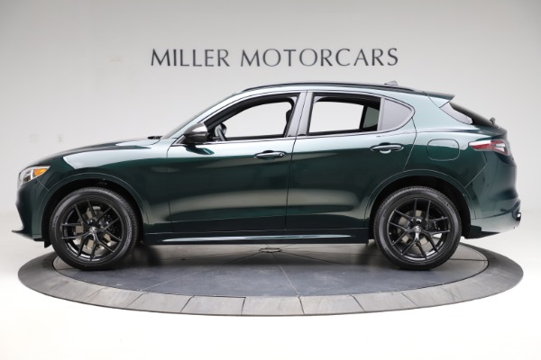 New 2021 Alfa Romeo Stelvio Ti Sport Q4 for sale $56,450 at Bentley Greenwich in Greenwich CT 06830 3