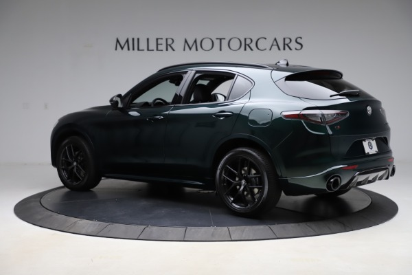 New 2021 Alfa Romeo Stelvio Ti Sport Q4 for sale $56,450 at Bentley Greenwich in Greenwich CT 06830 4